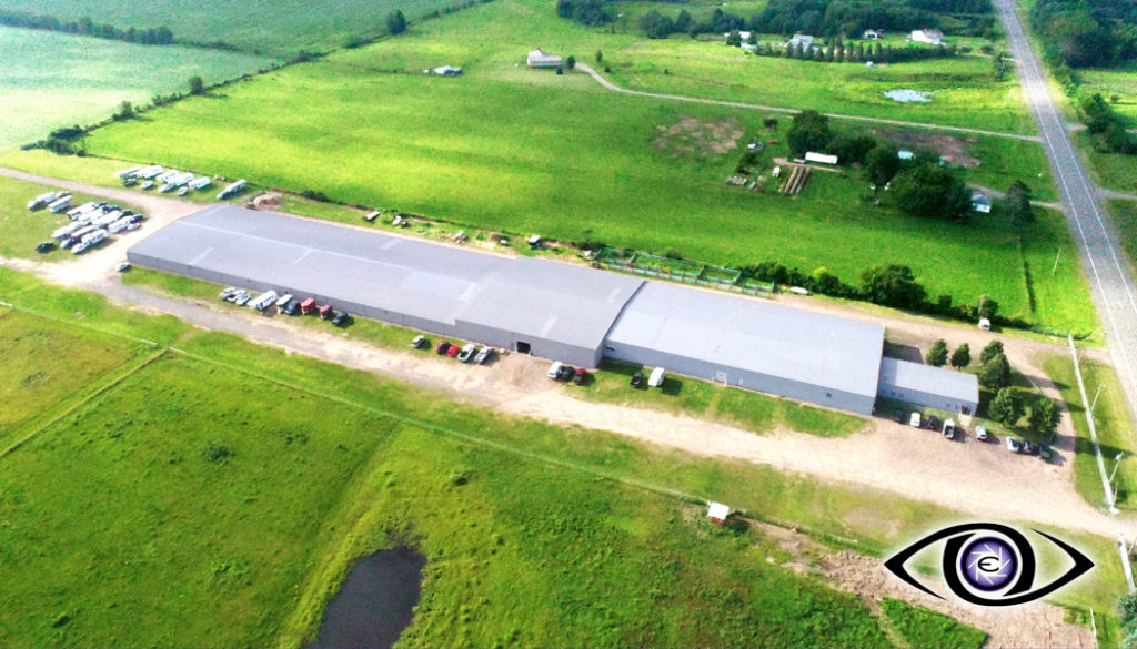 Aerial Drone Barn Real Estate Photography
