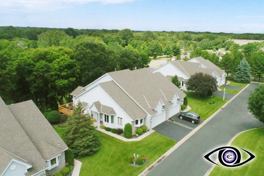 Real Estate Photography Aerial Drone Front